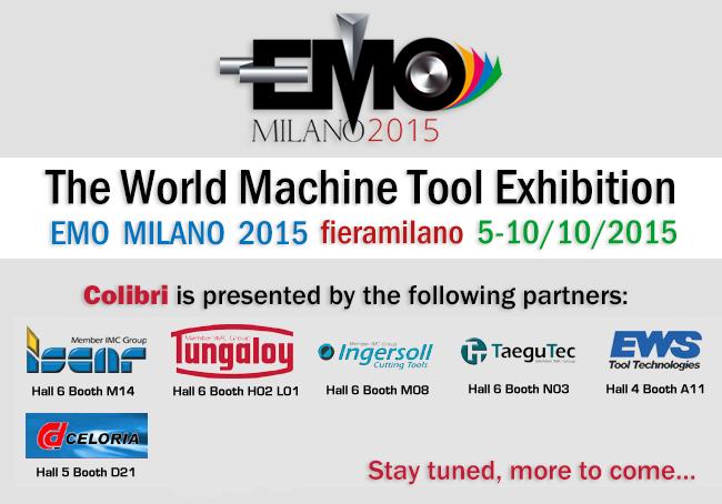 Colibri at EMO Milano 2015